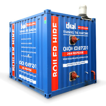 750kW Packaged Boiler - Gas & Oil Fired - Temporary Boiler Hire